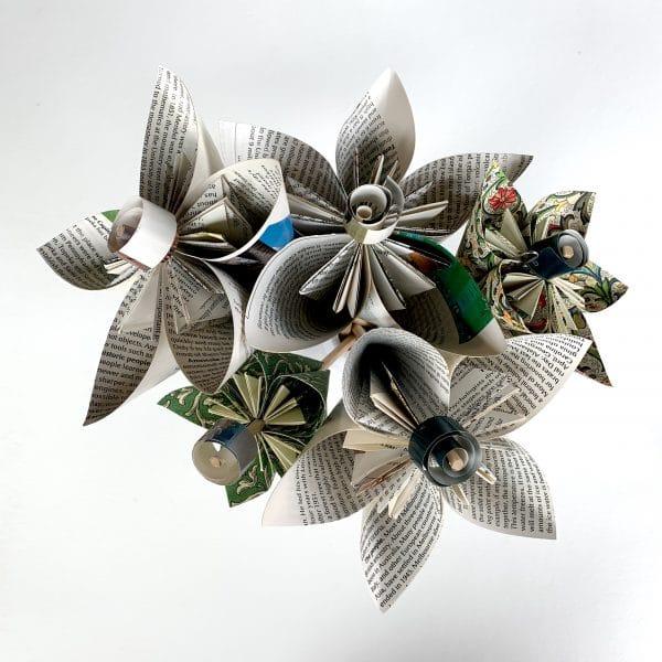 Wedding Bouquet – Kusudama Flowers | Origami flower bouquet, Diy ... | 600x600